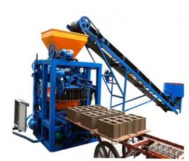 új SINOWAY QT4-24 betonelem gyártó gép