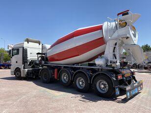 új ALIM mixer semi trailer concrete mixer semi-trailer betonkeverő félpótkocsi