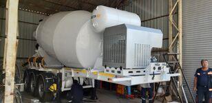 új EXPOTRAILER 12 M3 betonkeverő félpótkocsi