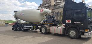 új GURLESENYIL betonkeverő félpótkocsi