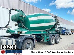 LIEBHERR  10m³  Betonmischer ca.  betonkeverő félpótkocsi