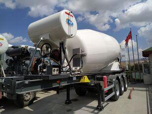 új NTM 2021 betonkeverő félpótkocsi