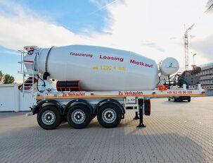 SCHWARZMÜLLER TTC-Fulda Betonmischer Auflieger mit Motor  NEU betonkeverő félpótkocsi