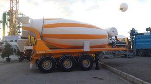 új SEMIX betonkeverő félpótkocsi