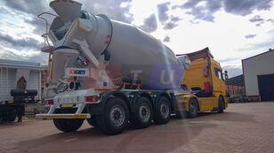 új STU 12.7 CBM MIXER TRAILER betonkeverő félpótkocsi