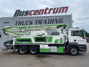 Putzmeister BSF 38-5.16 HLS MAN TGS 26.400 6x4 Putzmeister 38-5 m / Top Pump / German Truck alvázon betonpumpa