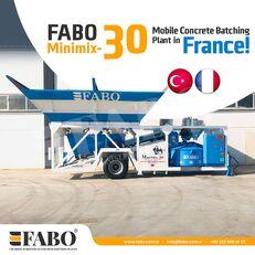 új FABO MINIMIX-30M3/H MINI CENTRALE A BETON MOBILE betonüzem