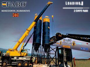 új FABO MIX COMPACT-110 CONCRETE PLANT   CONVEYOR TYPE betonüzem