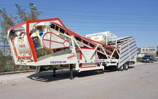 új MESAS 100 m3/h MOBILE Concrete Batchıng Plant betonüzem