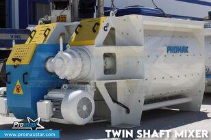 új PROMAX 2 m3 /3 m3 TWIN SHAFT MIXER betonüzem