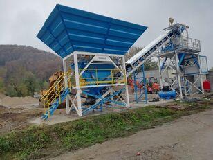 új PROMAX Compact Concrete Batching Plant PROMAX C60-SNG PLUS (60m³/h) betonüzem