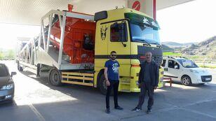 új Plusmix PLUSMİX ST120-TWN Double Chassis -:120m³/hour  Mobile Concrete P betonüzem