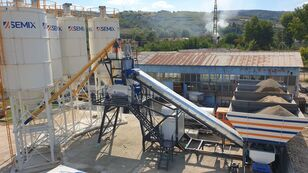 új SEMIX Mobile 120-135 Y MOBILE CONCRETE BATCHING PLANTS 120-135m³ betonüzem