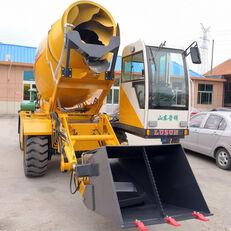 új LUZUN selfloading concrete mixer gumikerekes kotró