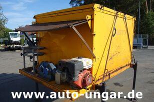 OLETTO 2m³ Thermo Asphalt Container Hot Box H02 wie A.T.C. / HMB hézagkiöntő gép