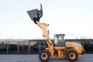 CASE 721F XR , 16t , hydraulic grab bucket 3,5m3 , joystick , industr kerekes rakodó