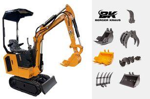új BERGER KRAUS Mini Excavator BK800BS torsion arm with FULL equipment minikotró