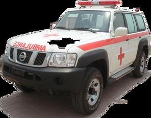 új NISSAN Patrol 4.0 XE AT mentő